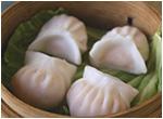 蒸し海老餃子(4個)