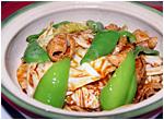 豚肉とキャベツの辛子味噌